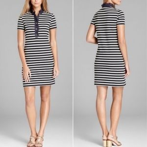 Tory Burch Lidia Short Sleeve Polo Shirt Dress